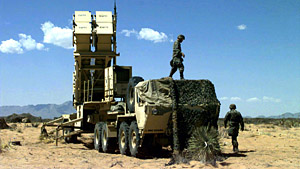 Patriot PAC3 Long Range Air Defense Missile System