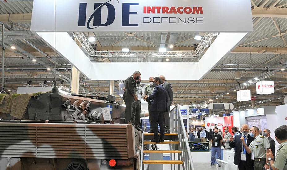 IDE Leo 2 MBT at DEFEA 2021