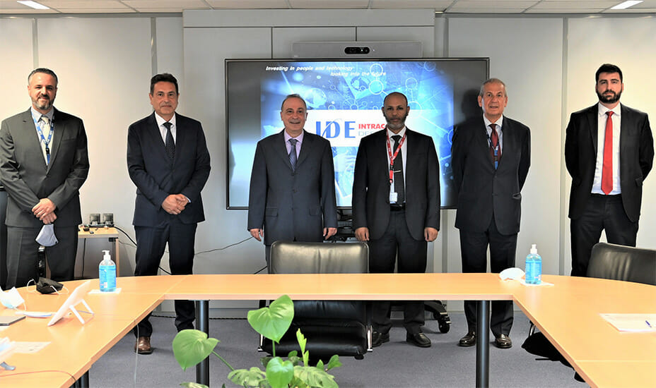 The Defence Attaché of the Kingdom of Saudi Arabia visits INTRACOM DEFENSE